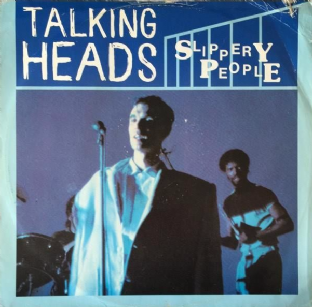 "Talking Heads ‎- Slippery People (12"") (G-/F+)"